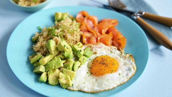 Quinoa frokosttallerken