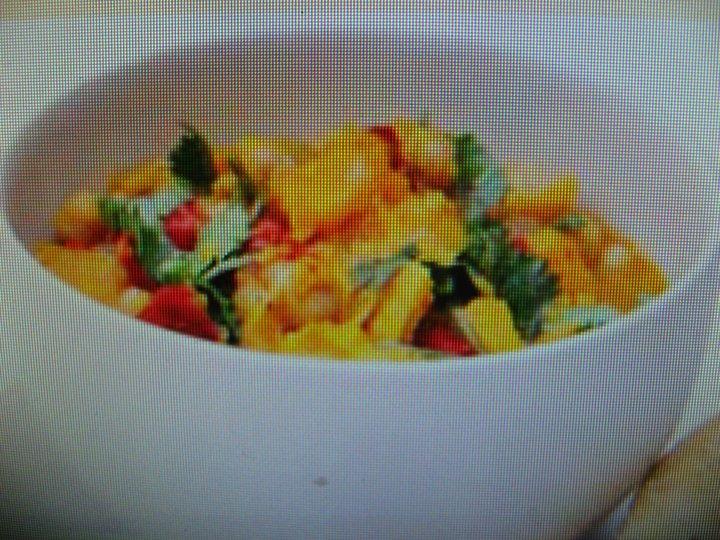 Grønnsaksgryte med chili