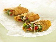 Asiatisk omelettrulade