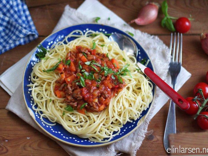 Spaghetti bolognese til hverdags