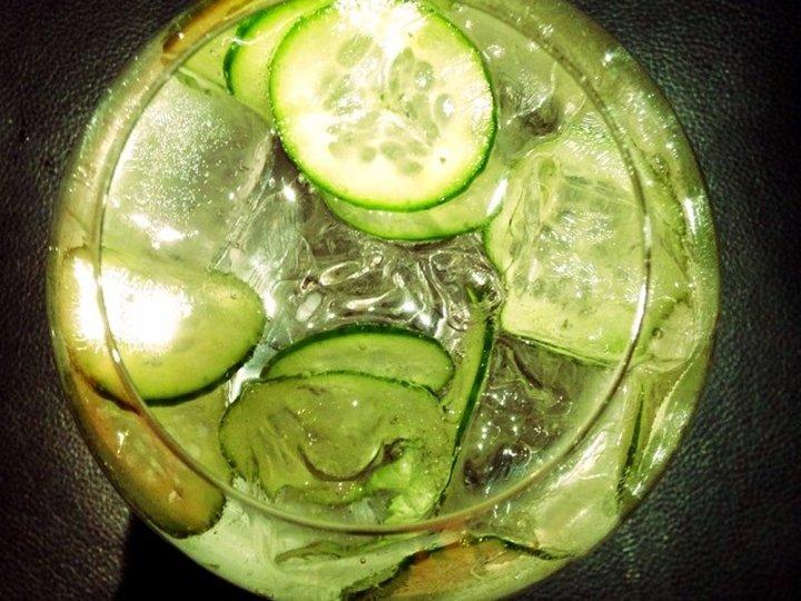Gin tonic m agurk