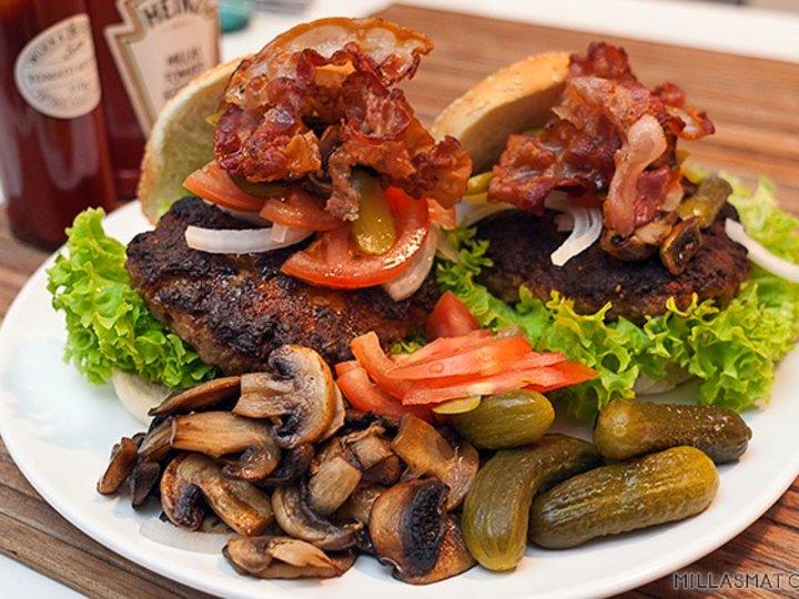 Jack Daniels Baconburger