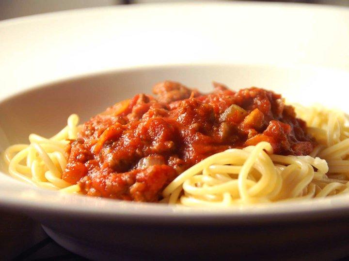Spagetti og kjøttdeig