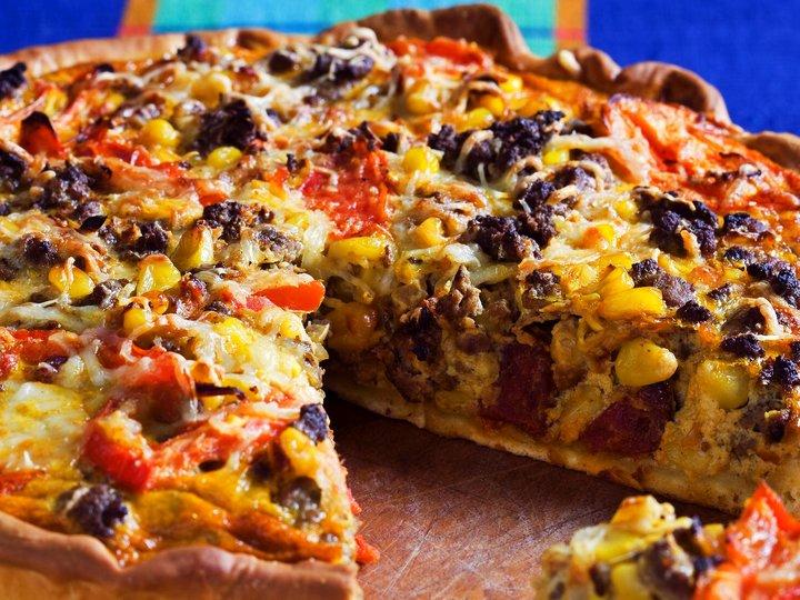 Meksikansk pizzapai