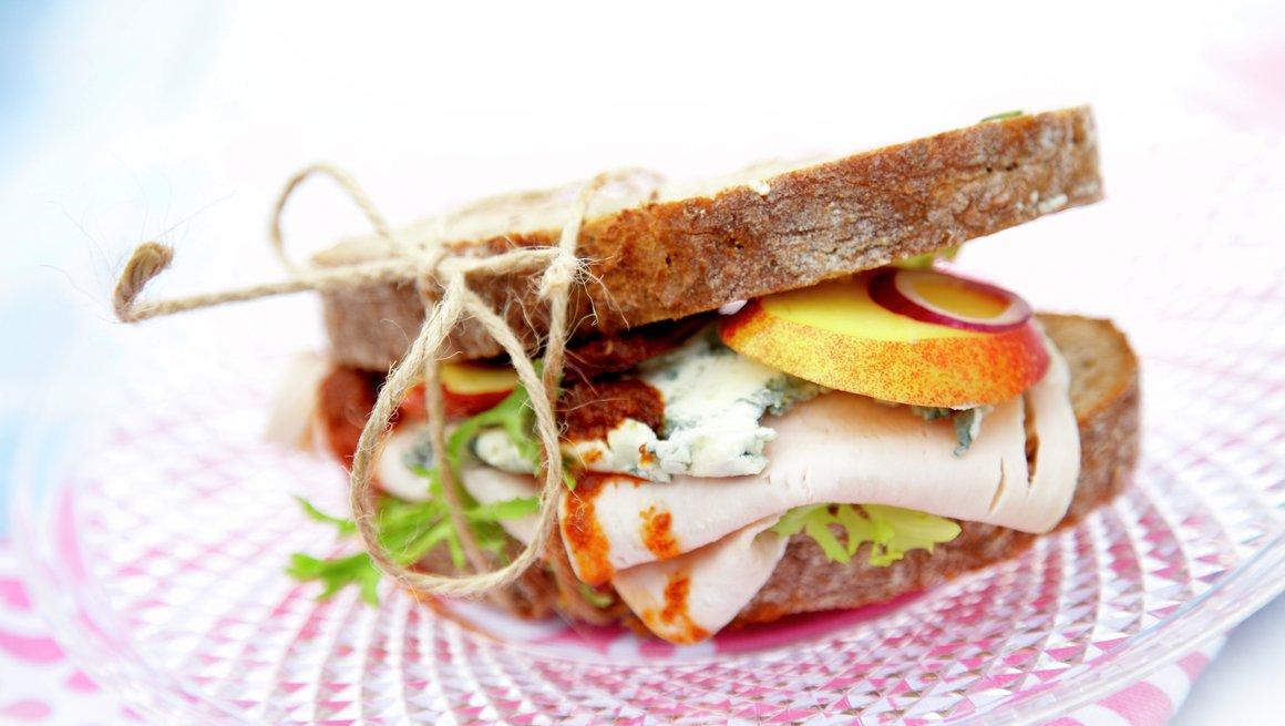 Kalkunsandwich