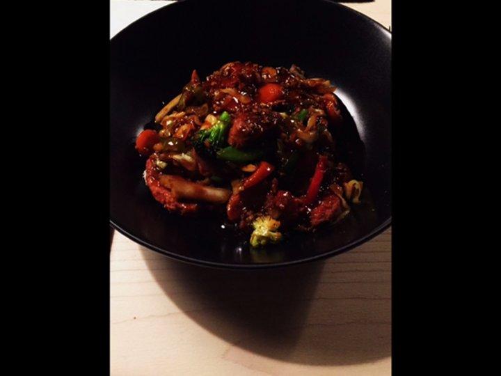 Asiatisk bbq sauce