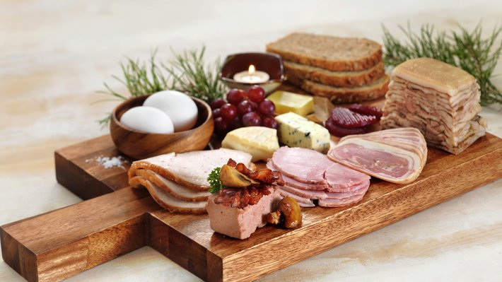 Kjøtt på frokostbordet