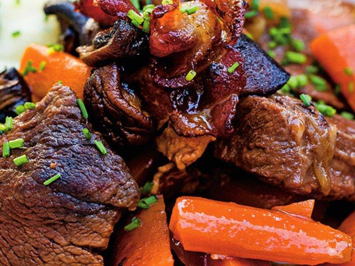 Kjøttgryte med potetmos