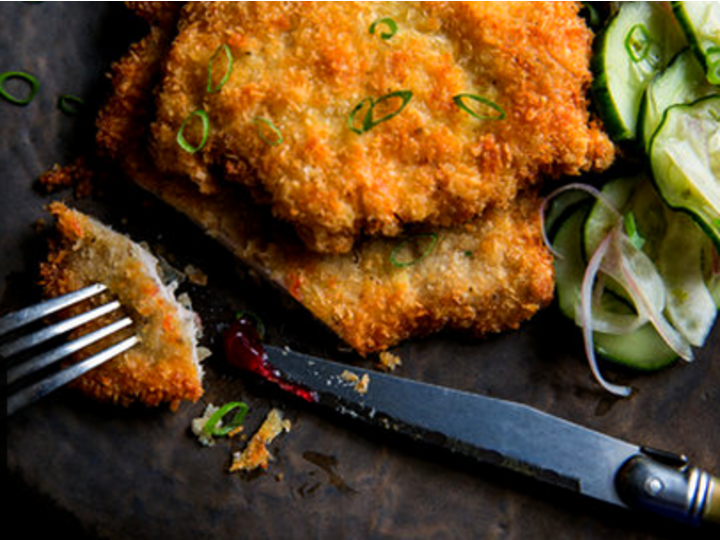 Wienerschnitzel og Quick Pickles