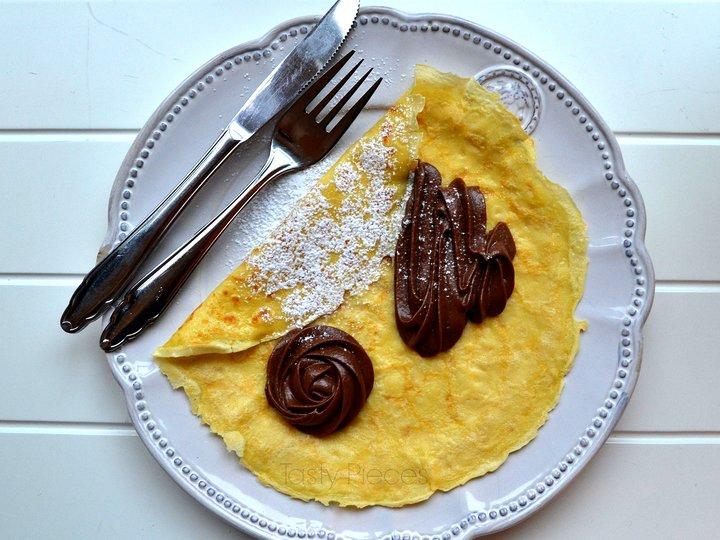 Crêpe med Nutella-krem