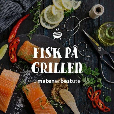 Teaser bilde fisk på grillen