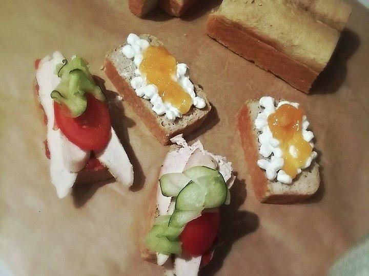 Mandelbrød til desserter og sandwiches