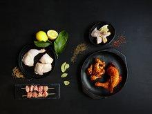 Kylling streetfood råvare