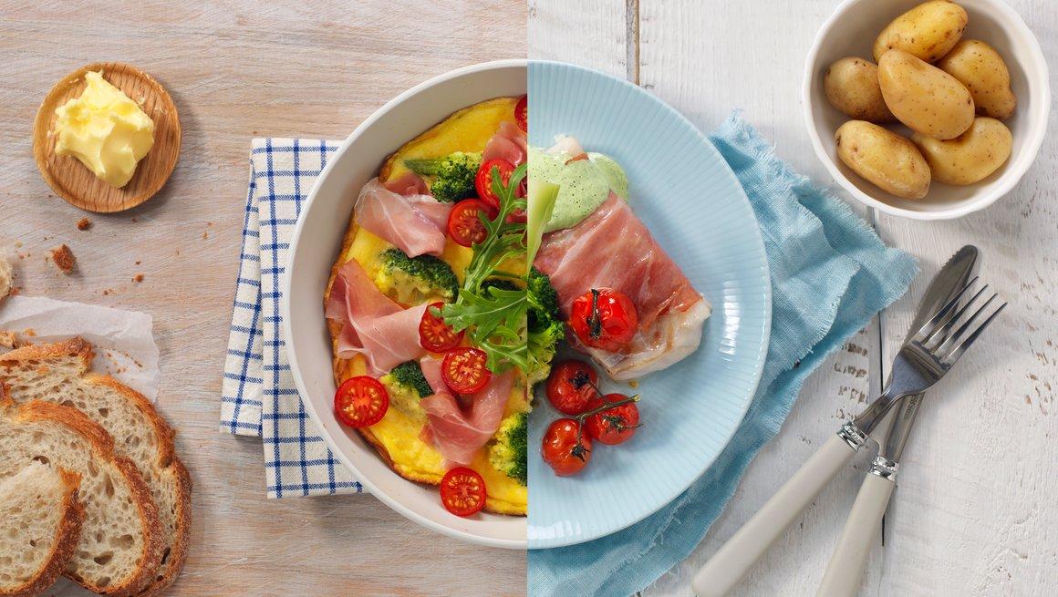 Eggepanne og Torsk