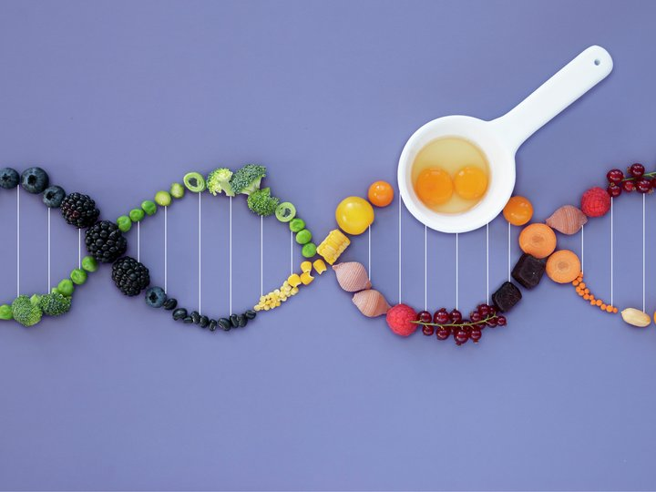 DNA av frukt og grønnsaker