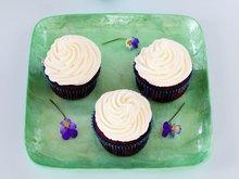 Cupcakes med sjokolade