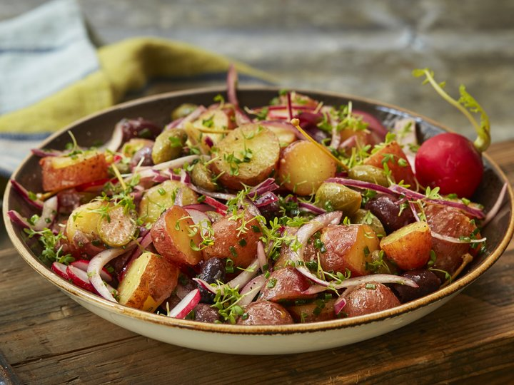 Enkel potetsalat