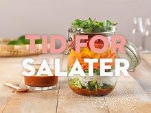 La deg friste av våre smakfulle salater