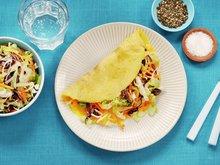 Omelett med råkost