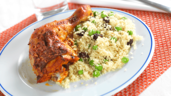 Kyllinglår med couscoussalat