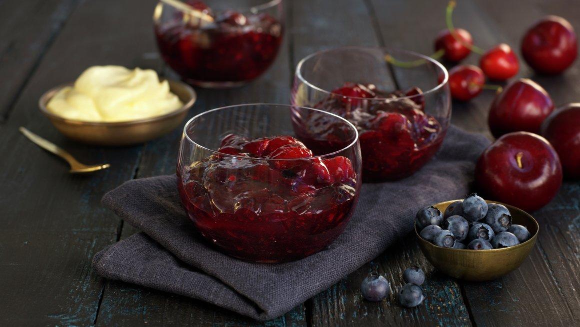 Bær- og fruktkompott