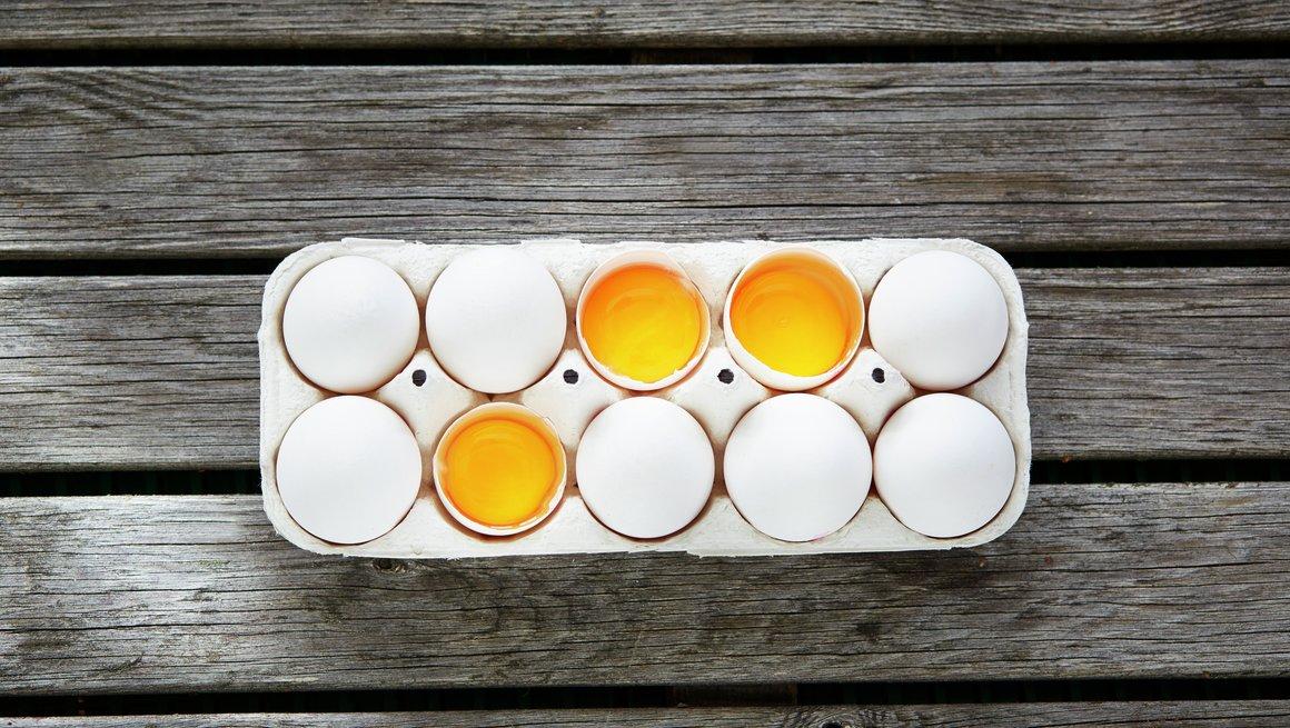 Egg i kartong