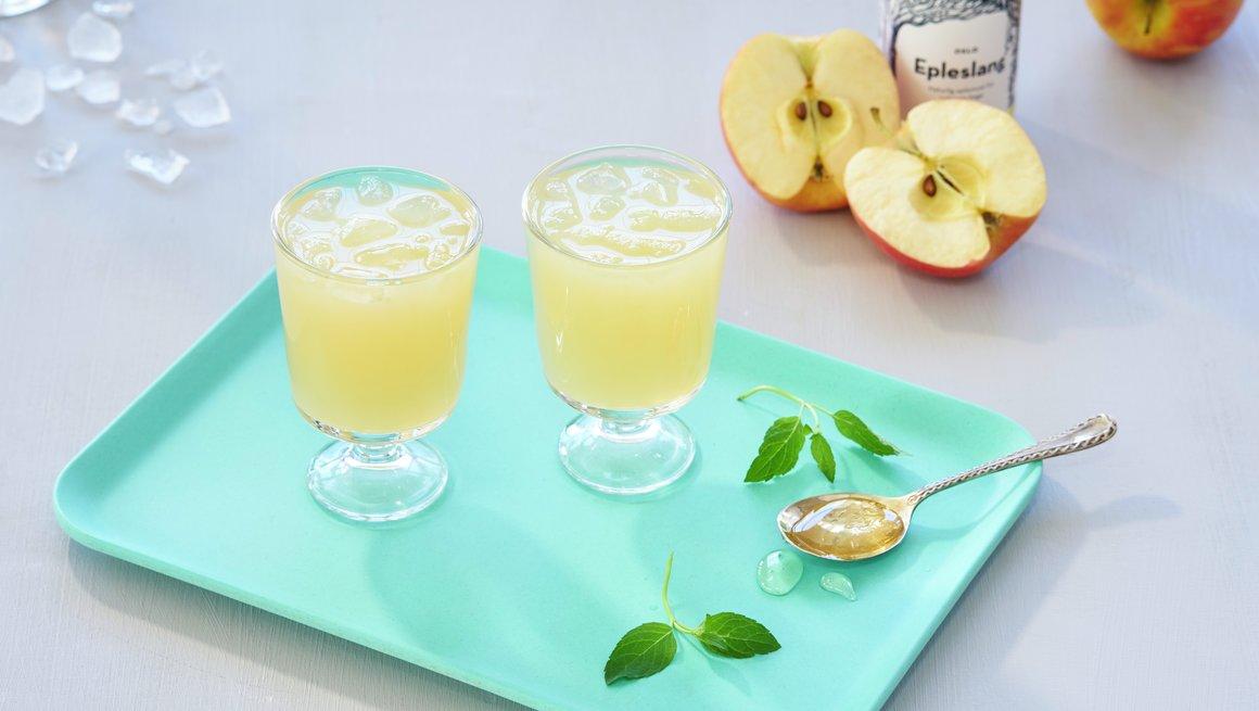 Alkoholfri epledrink
