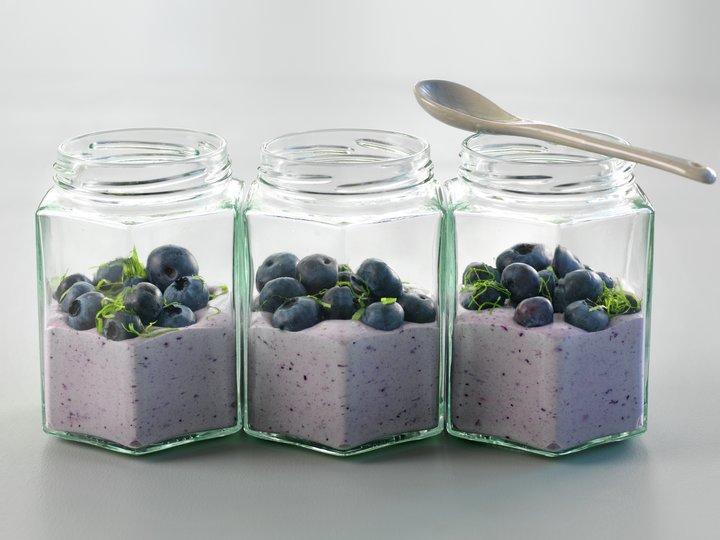 Blåbærfromasj
