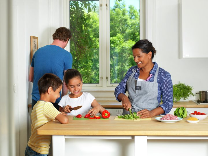Middag for hele familien
