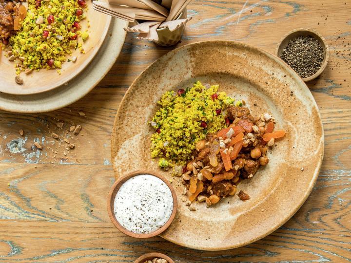 Braisert lam med couscous - høydebilde