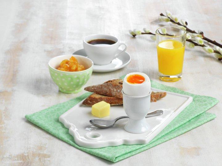 Tid for lang og god påskefrokost med alle samlet