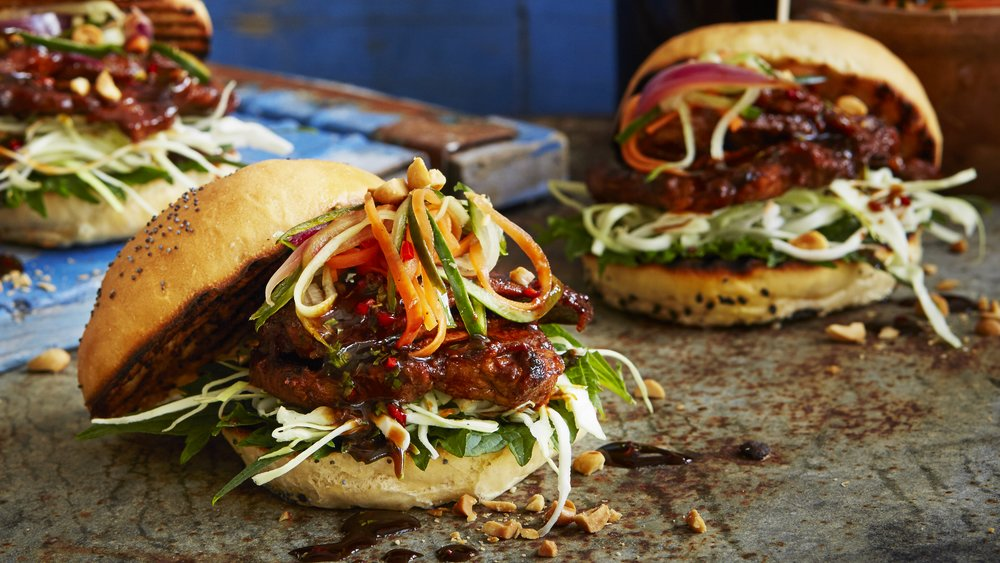 Asiatisk hamburger