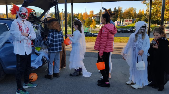 Halloween , Oslo International School