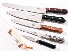 Kniver og slipestål