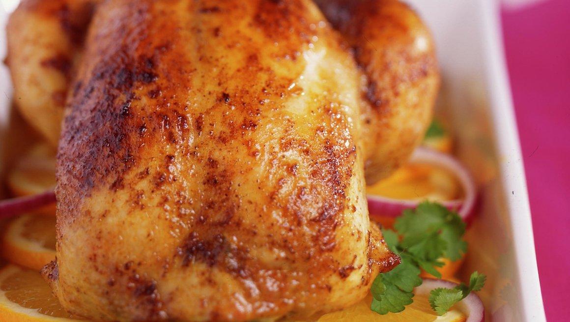 Appelsinfylt kylling