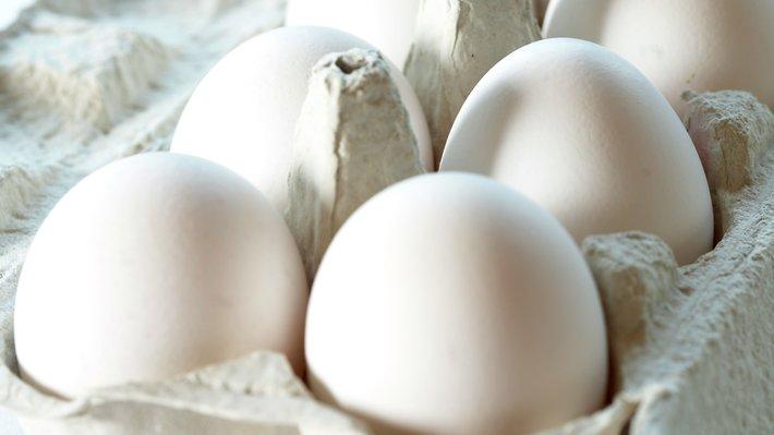 Kartong med egg