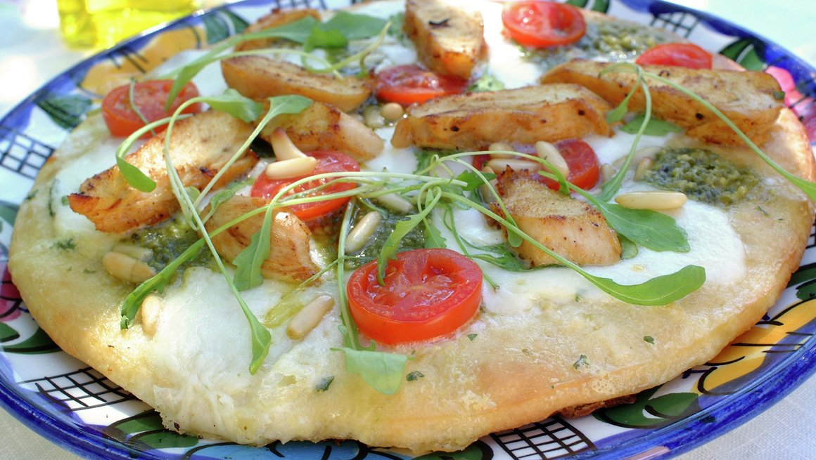 Kyllingpizza