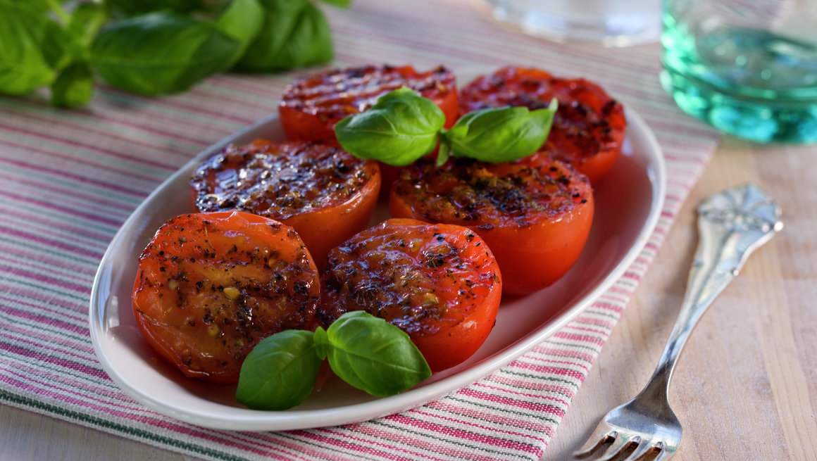 Stekte tomater