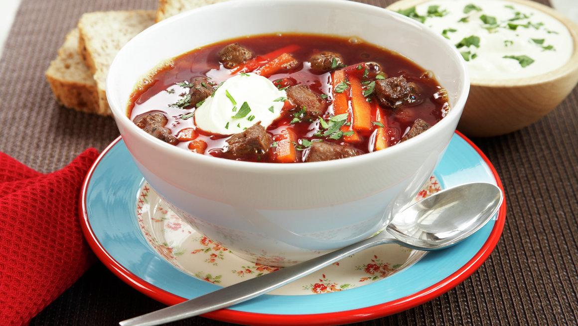 Borsjtj, russisk rødbetesuppe