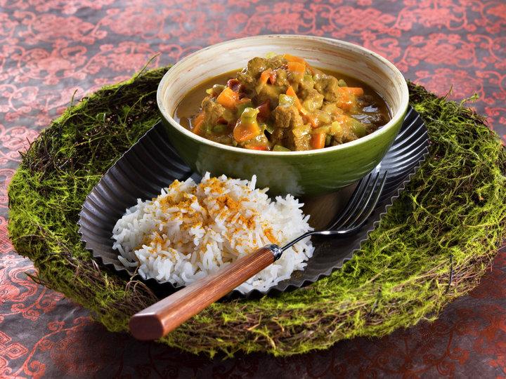 Oksegryte med kokosmelk fra kenya