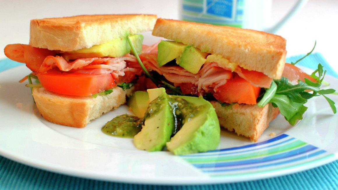 Pannestekt sandwich