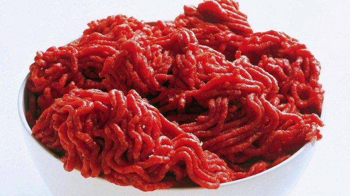 Kvernet lammekjøtt, lammedeig råvare