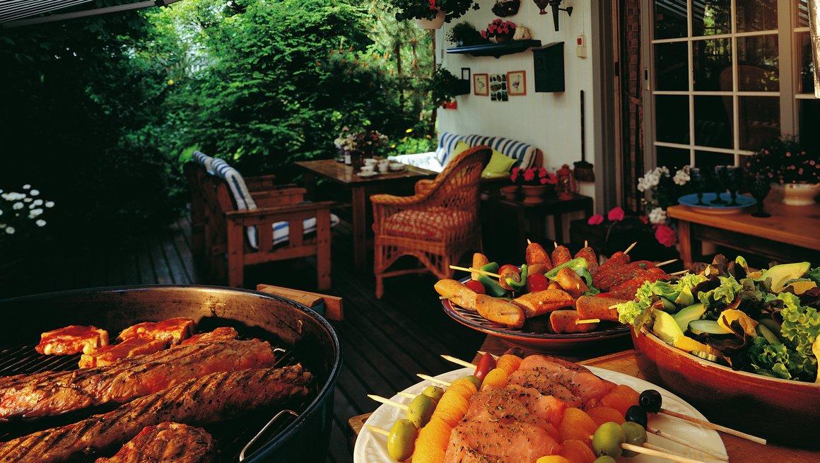 Festmeny på grill