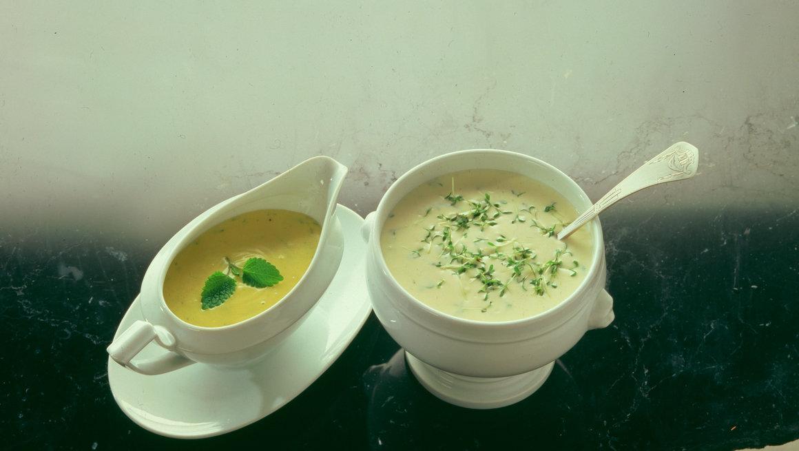 Bearnaisesaus og crème frache-saus