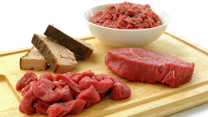 Opptak av jern - kjøtt