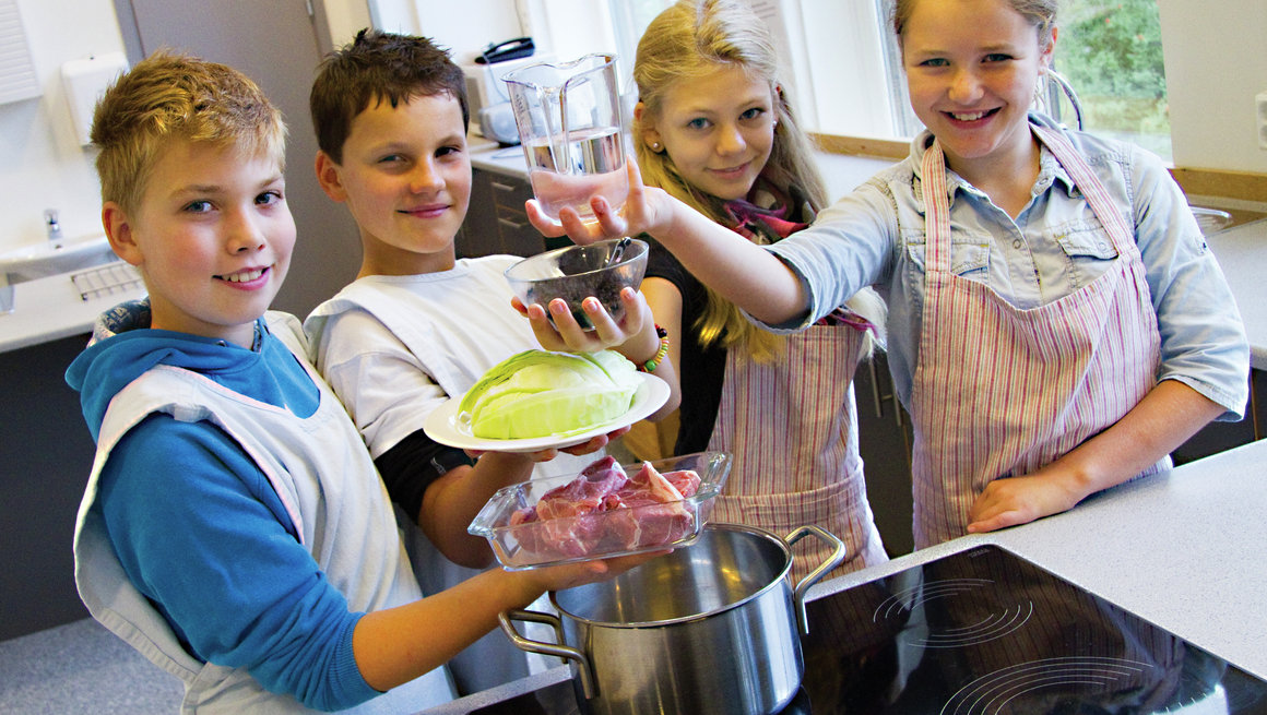 Skolekjøkken, fårikål