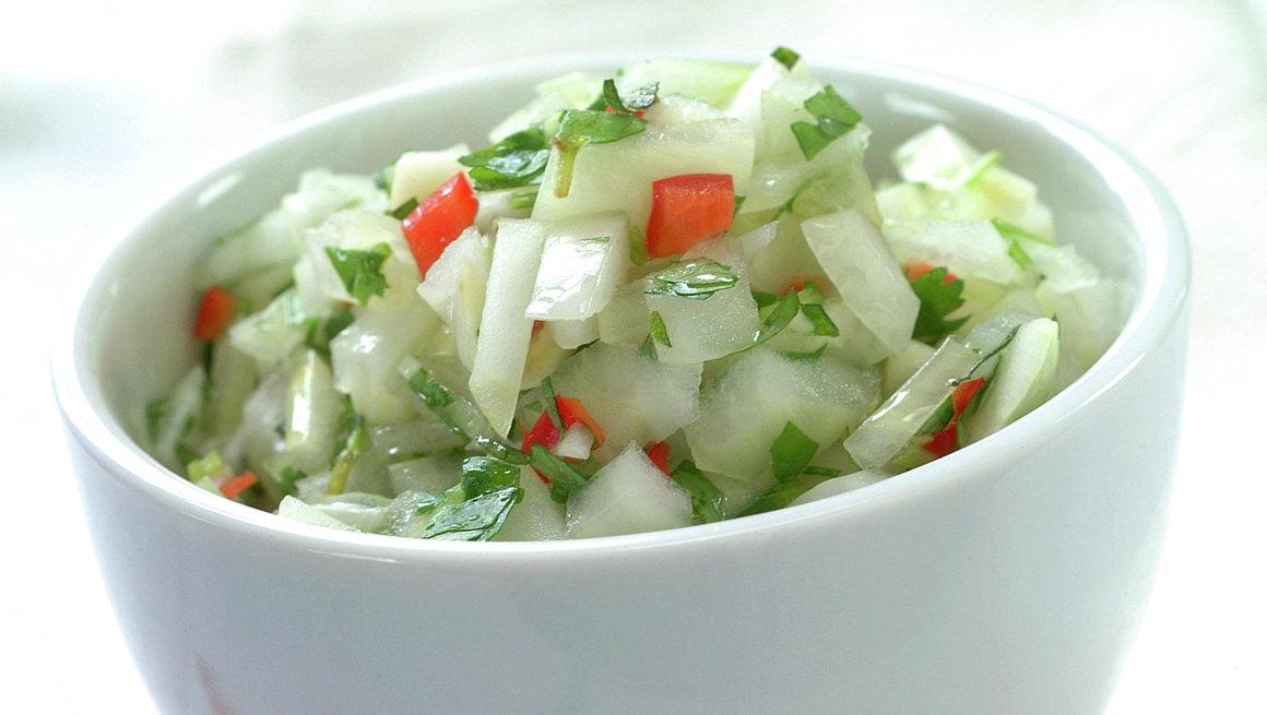 Pebre - chilensk hot salsa