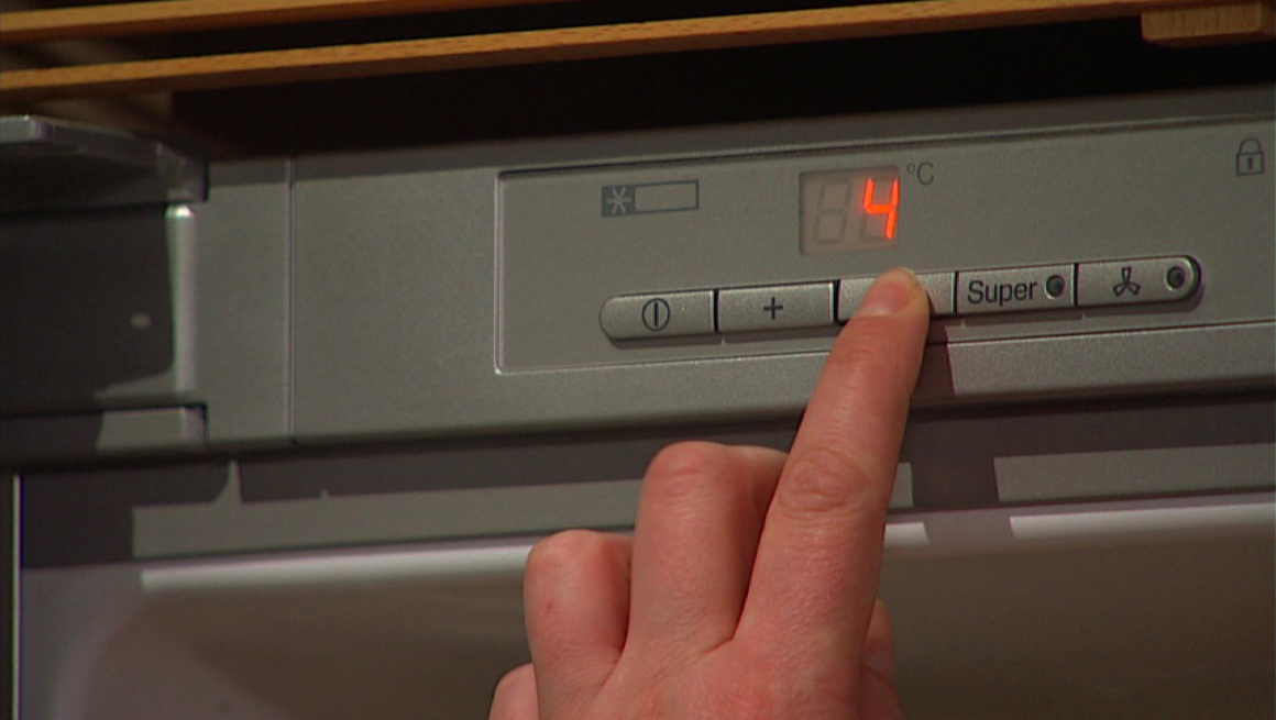 Kjøleskapstemperatur