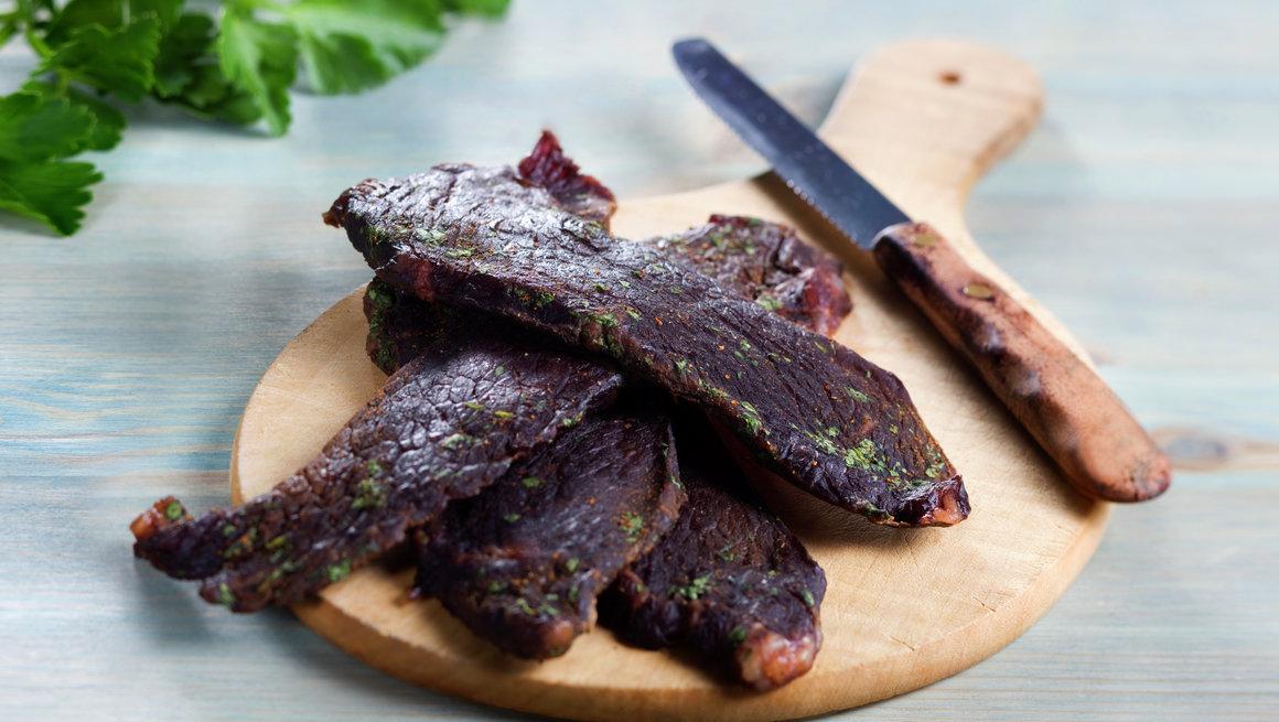 Beef Jerky - tørket oksekjøtt