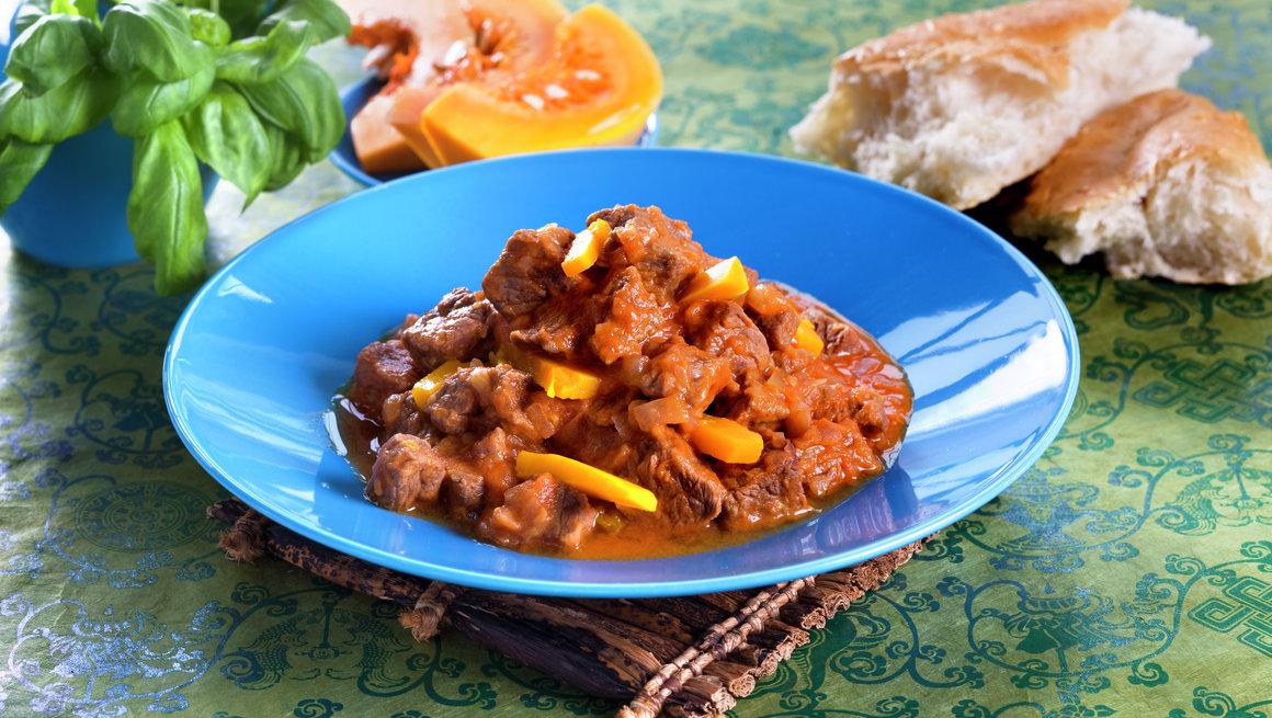 Mulah kudueah - kjøtt og gresskar fra sudan